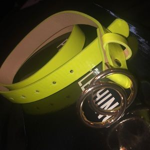 Accessories - Lime Green Belt